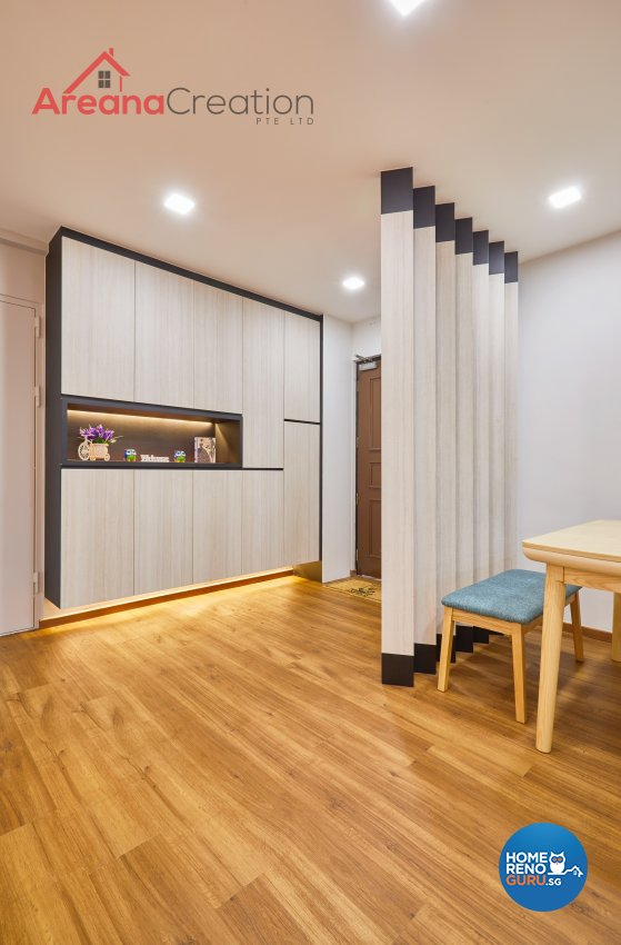 Contemporary, Scandinavian Design - Dining Room - HDB 4 Room - Design by Areana Creation Pte Ltd