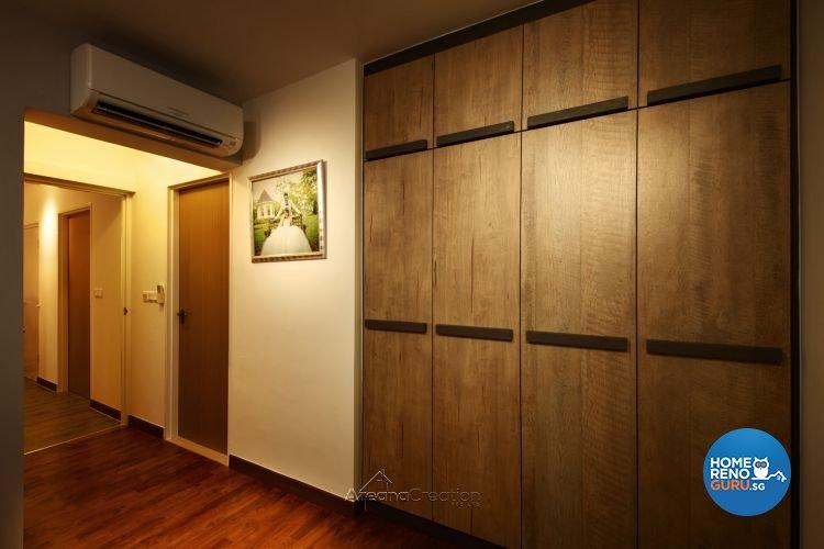 Contemporary, Modern Design - Bedroom - HDB 4 Room - Design by Areana Creation Pte Ltd
