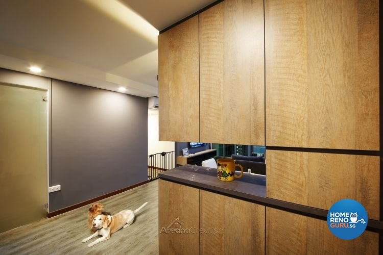 Contemporary, Modern Design - Living Room - HDB 4 Room - Design by Areana Creation Pte Ltd