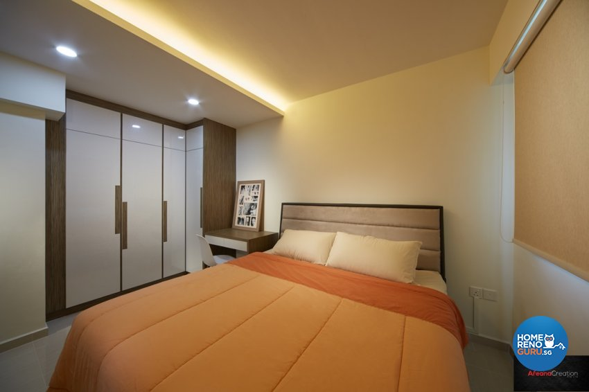 Minimalist, Modern, Scandinavian Design - Bedroom - HDB 4 Room - Design by Areana Creation Pte Ltd