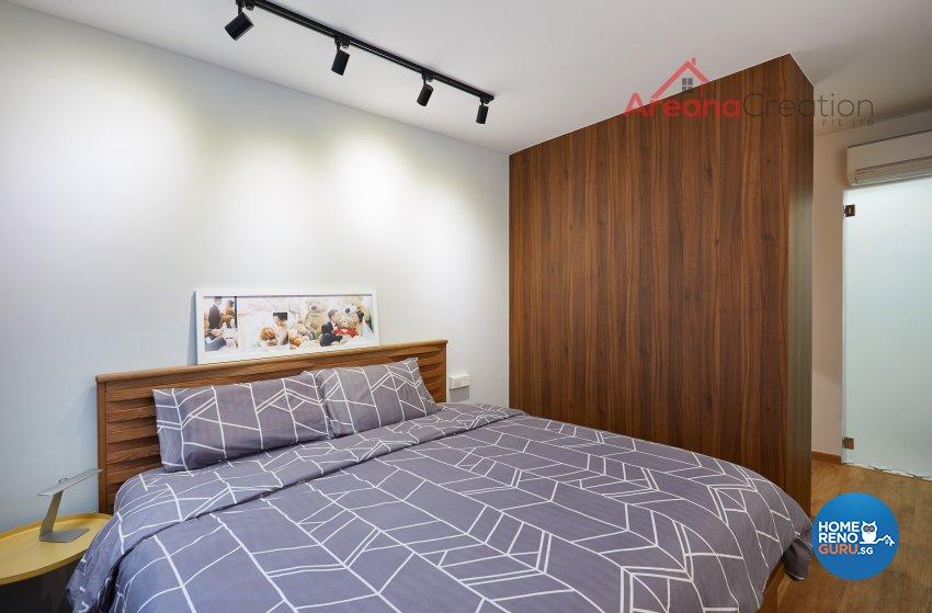 Contemporary Design - Bedroom - HDB 5 Room - Design by Areana Creation Pte Ltd