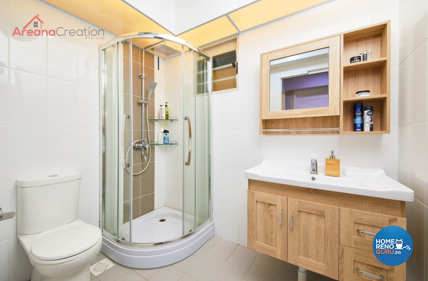 Classical, Contemporary, Country Design - Bathroom - HDB 5 Room - Design by Areana Creation Pte Ltd