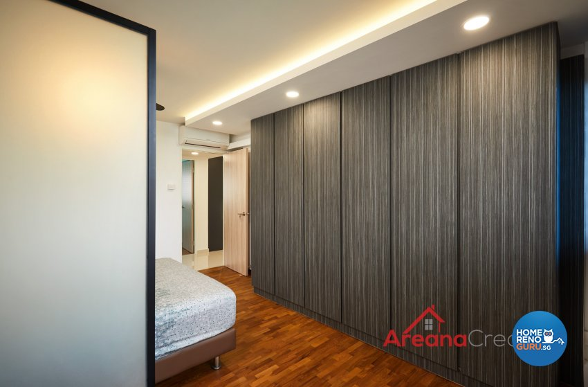 Contemporary Design - Bedroom - HDB 5 Room - Design by Areana Creation Pte Ltd