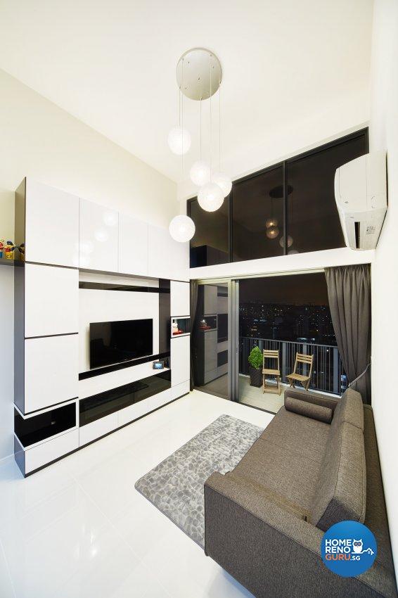 Contemporary, Minimalist, Modern Design - Living Room - HDB Executive Apartment - Design by Areana Creation Pte Ltd
