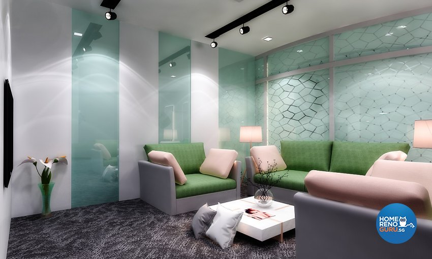 Classical Design - Commercial - Retail - Design by Arise Interior Design Pte Ltd