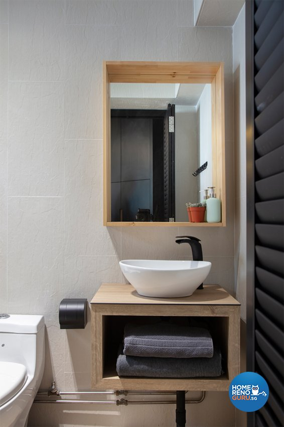 Contemporary Design - Bathroom - HDB 5 Room - Design by ARK-hitecture Pte Ltd