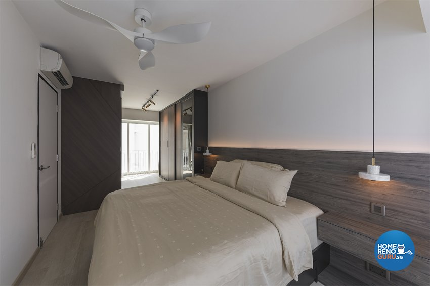 Contemporary Design - Bedroom - HDB 5 Room - Design by ARK-hitecture Pte Ltd