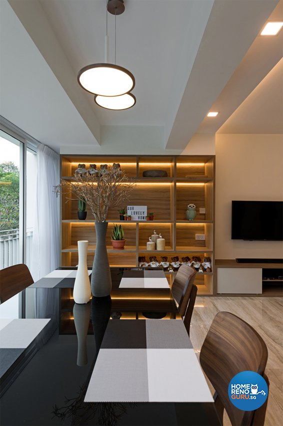 Contemporary Design - Living Room - HDB 5 Room - Design by ARK-hitecture Pte Ltd