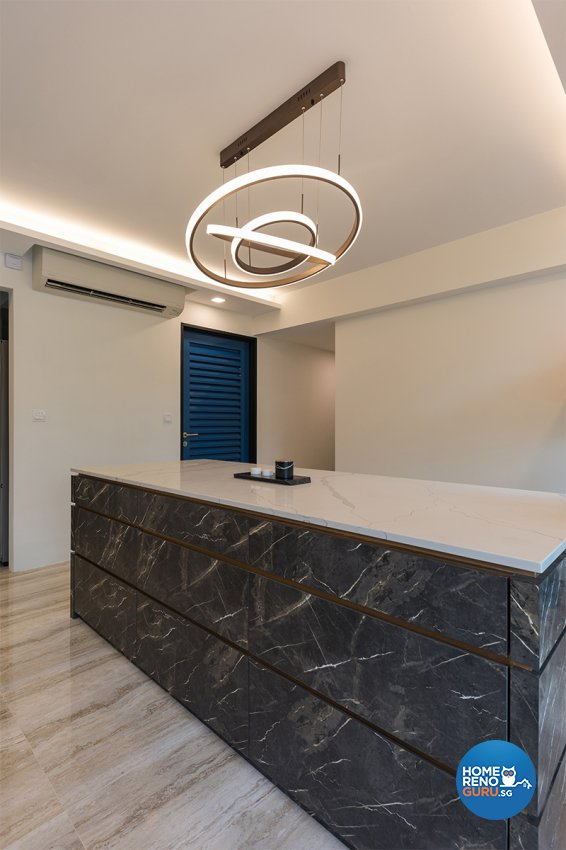 Contemporary Design - Dining Room - HDB 5 Room - Design by ARK-hitecture Pte Ltd