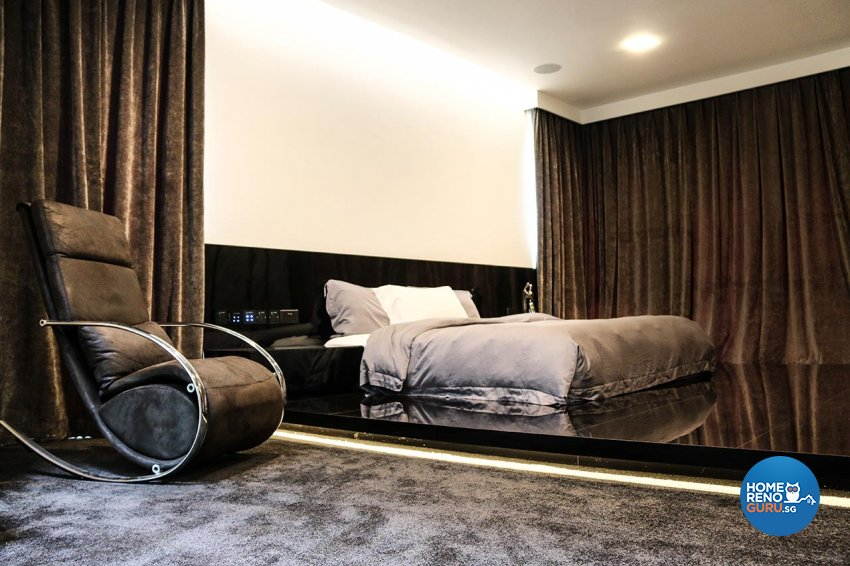 Contemporary, Minimalist, Modern Design - Bedroom - Landed House - Design by ARK-hitecture Pte Ltd
