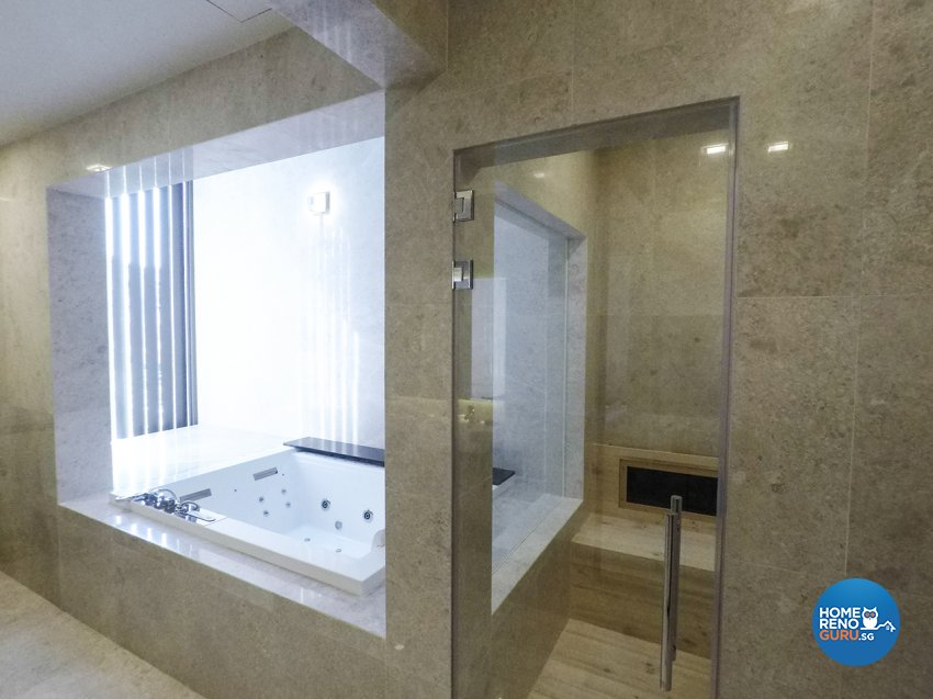 Contemporary, Minimalist, Modern Design - Bathroom - Landed House - Design by ARK-hitecture Pte Ltd