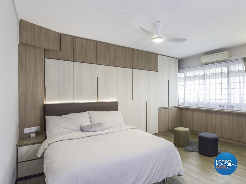 Modern, Resort Design - Bedroom - HDB 4 Room - Design by Artis Interior Pte Ltd