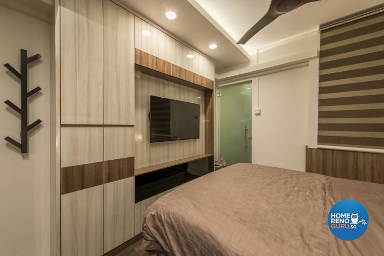 Contemporary, Modern Design - Bedroom - HDB 3 Room - Design by Artis Interior Pte Ltd