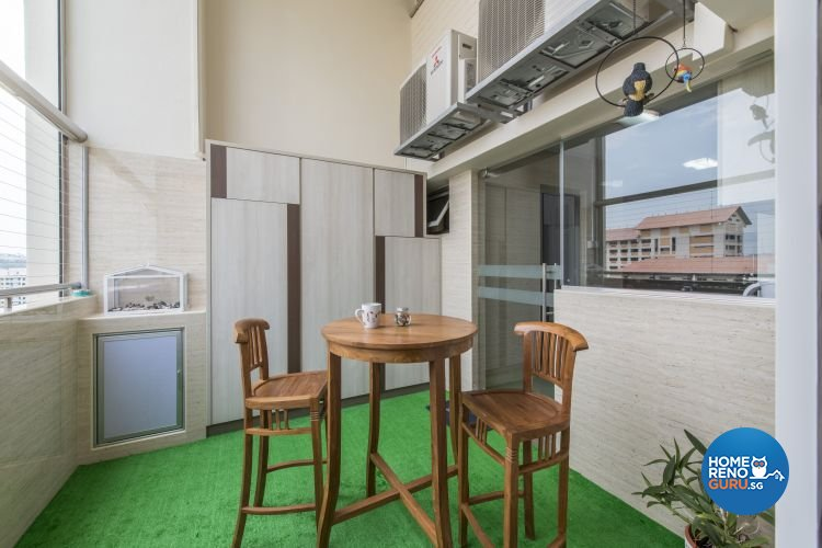 Contemporary, Minimalist, Modern Design - Balcony - Others - Design by Artis Interior Pte Ltd