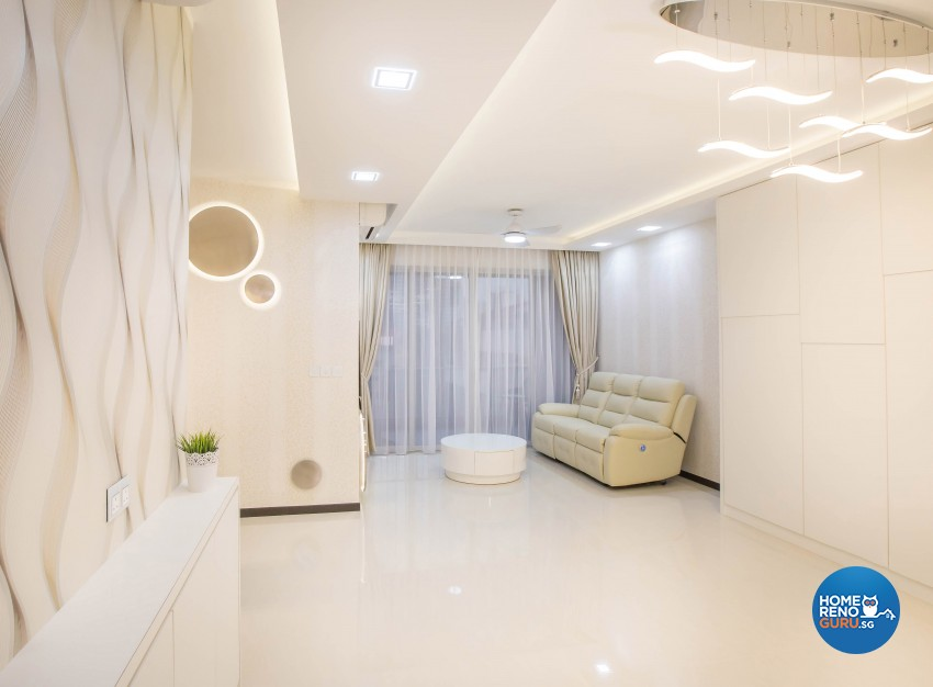 Modern Design - Living Room - Condominium - Design by Artis Interior Pte Ltd