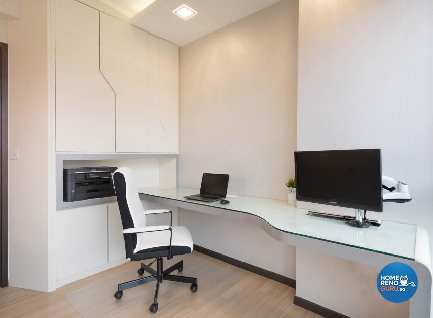 Modern Design - Study Room - Condominium - Design by Artis Interior Pte Ltd