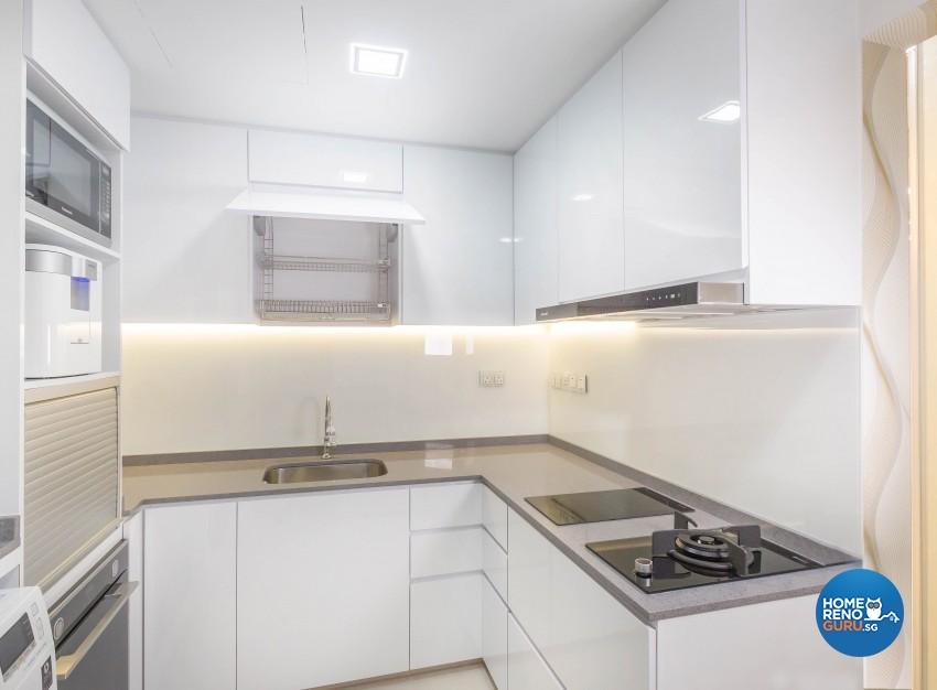 Modern Design - Kitchen - Condominium - Design by Artis Interior Pte Ltd