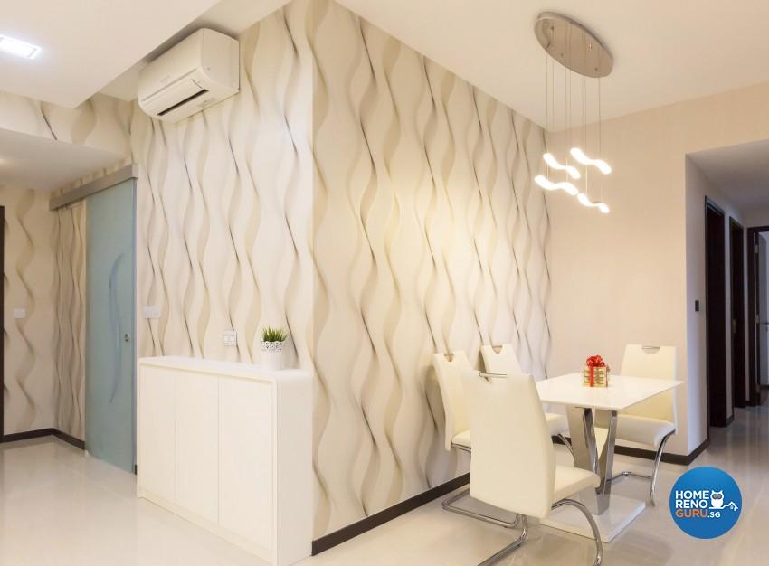 Modern Design - Dining Room - Condominium - Design by Artis Interior Pte Ltd