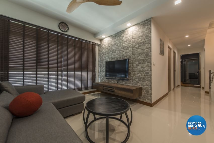 Classical, Minimalist, Modern Design - Living Room - HDB 4 Room - Design by Artis Interior Pte Ltd