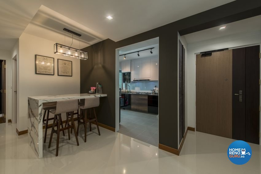 Classical, Minimalist, Modern Design - Dining Room - HDB 4 Room - Design by Artis Interior Pte Ltd