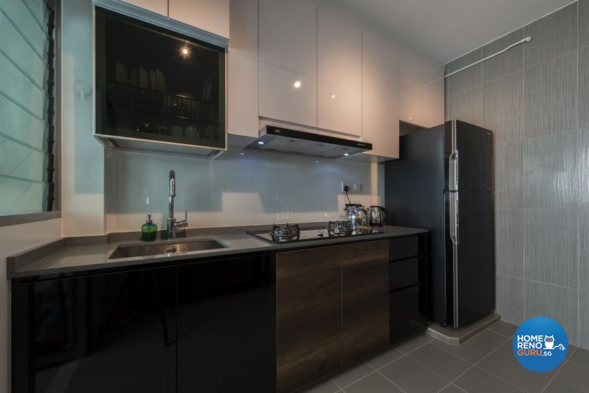 Classical, Minimalist, Modern Design - Kitchen - HDB 4 Room - Design by Artis Interior Pte Ltd