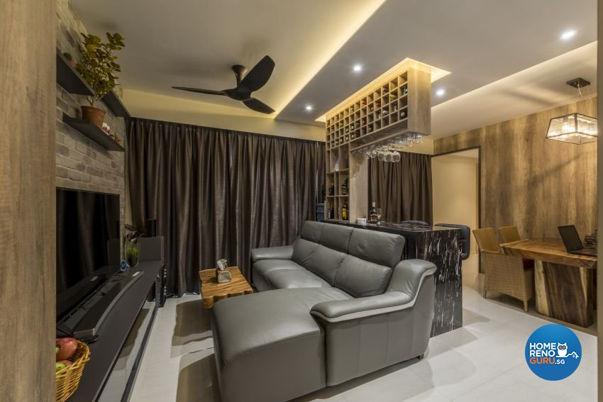 Classical, Contemporary, Scandinavian Design - Living Room - Condominium - Design by Artis Interior Pte Ltd