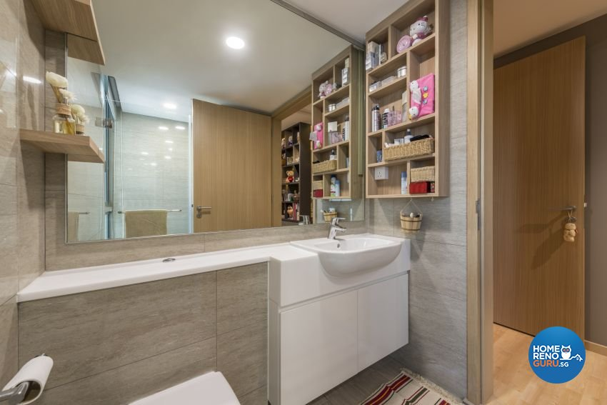 Classical, Contemporary, Scandinavian Design - Bathroom - Condominium - Design by Artis Interior Pte Ltd