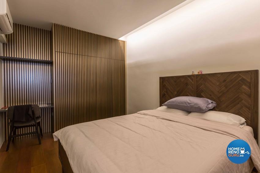 Modern Design - Bedroom - HDB 3 Room - Design by Artis Interior Pte Ltd