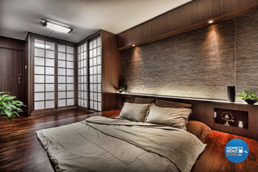 Contemporary, Resort Design - Bedroom - HDB 5 Room - Design by Artrend Design