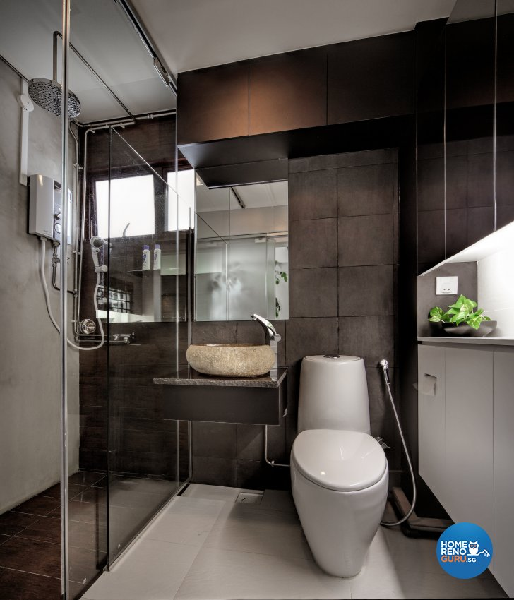 Contemporary, Resort Design - Bathroom - HDB 5 Room - Design by Artrend Design