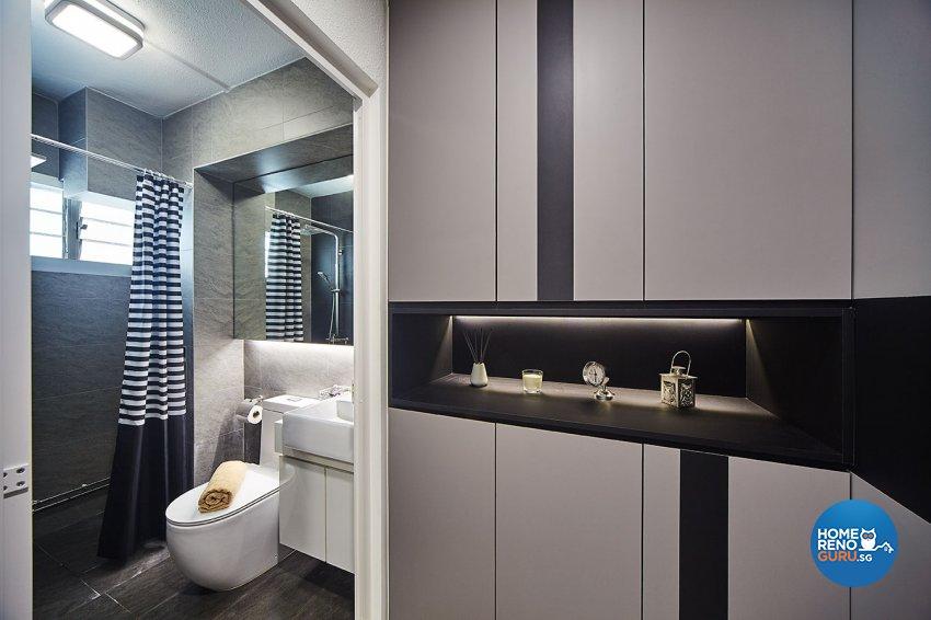Contemporary, Modern Design - Bathroom - Landed House - Design by Artrend Design