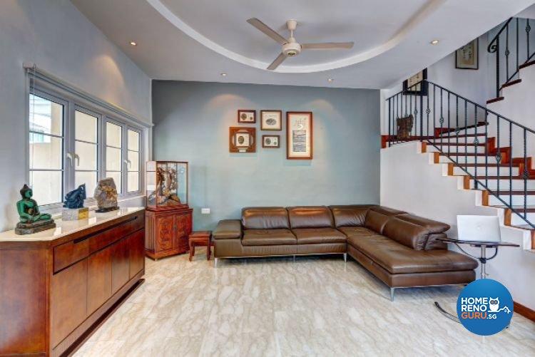 Contemporary, Modern, Scandinavian Design - Living Room - Landed House -  Design by Artrend