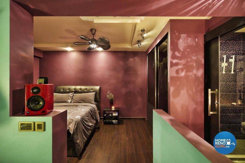Resort Design - Bedroom - HDB 4 Room - Design by Artrend Design