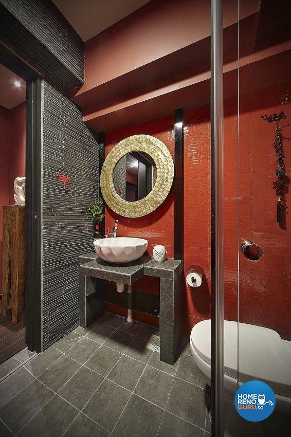 Resort Design - Bathroom - HDB 4 Room - Design by Artrend Design