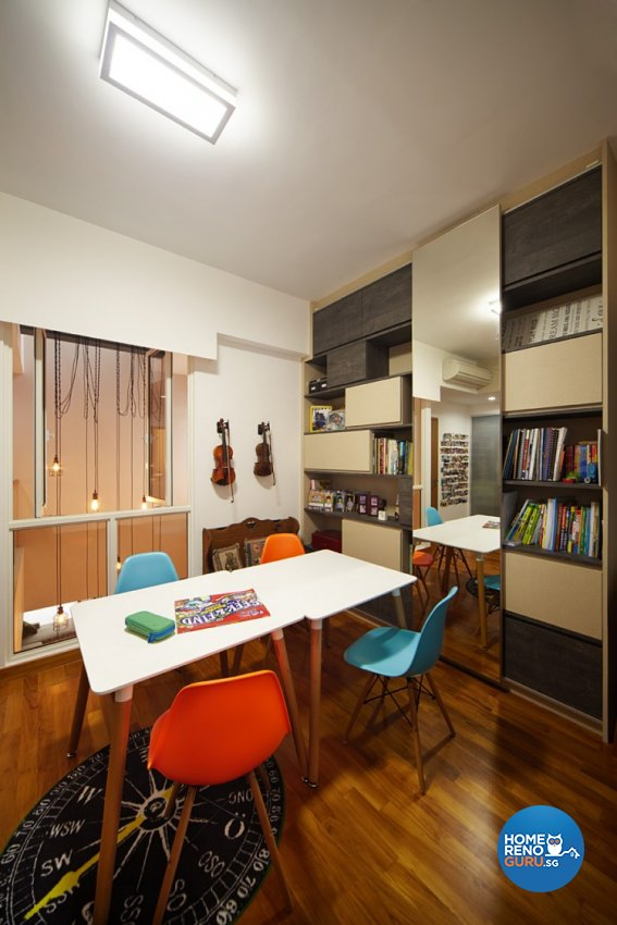 Contemporary, Modern Design - Study Room - Landed House - Design by Artrend Design