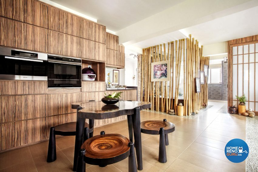 Contemporary, Others Design - Dining Room - HDB 4 Room - Design by Artrend Design