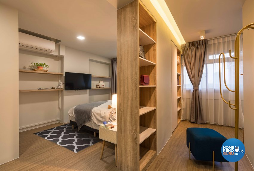 Modern, Scandinavian Design - Bedroom - HDB 5 Room - Design by Artrend Design