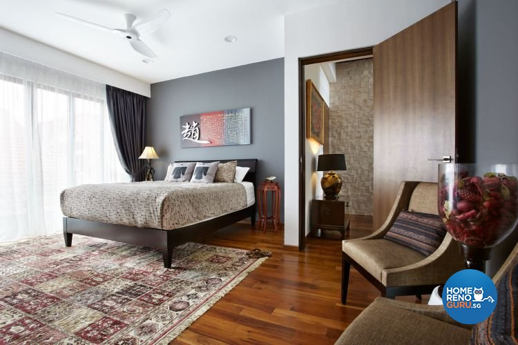 Contemporary, Modern Design - Bedroom - Landed House - Design by Artrend Design