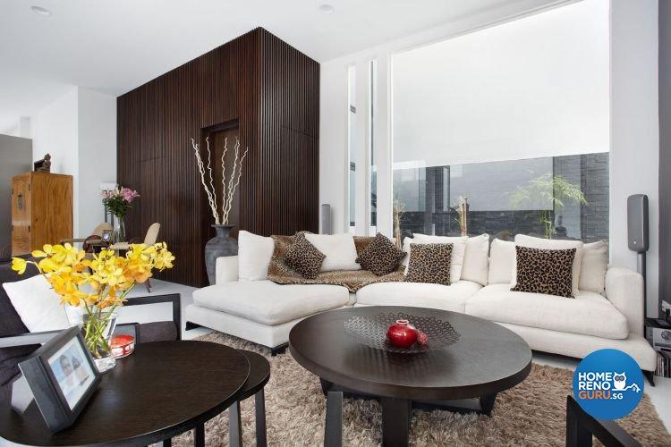 Contemporary, Modern Design - Living Room - Landed House - Design by Artrend Design