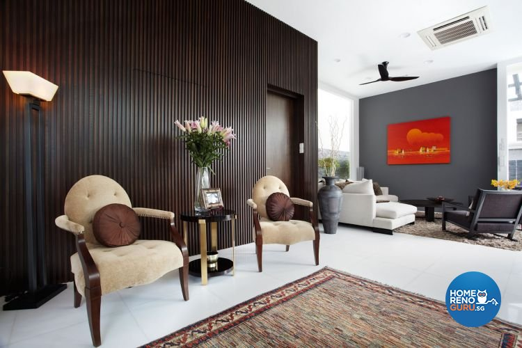 Contemporary, Modern Design - Entertainment Room - Landed House - Design by Artrend Design