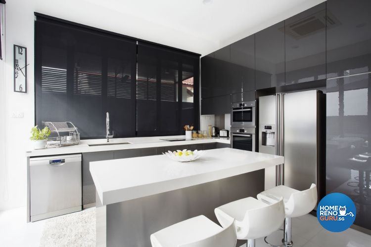 Contemporary, Modern Design - Kitchen - Landed House - Design by Artrend Design