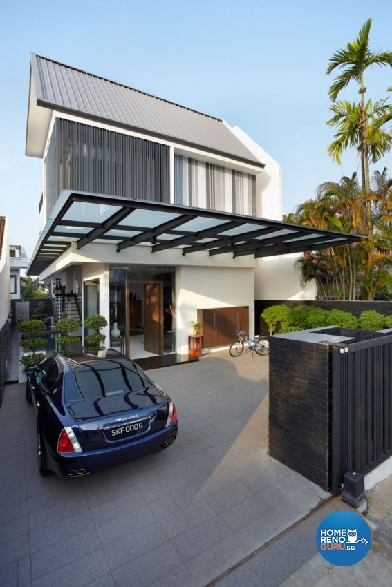 Contemporary, Modern Design - Balcony - Landed House - Design by Artrend Design