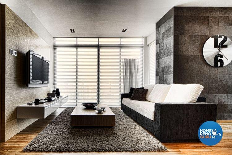 Minimalist, Modern Design - Living Room - Condominium - Design by Artrend Design