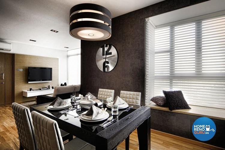 Minimalist, Modern Design - Dining Room - Condominium - Design by Artrend Design