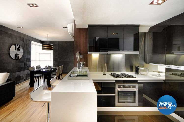 Minimalist, Modern Design - Kitchen - Condominium - Design by Artrend Design
