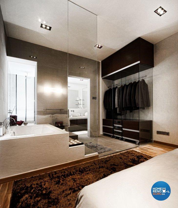 Minimalist, Modern Design - Bathroom - Condominium - Design by Artrend Design