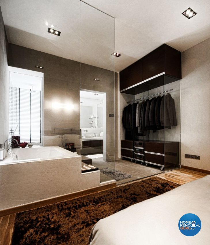 Minimalist, Modern Design - Bathroom - Condominium - Design by Artrend Design