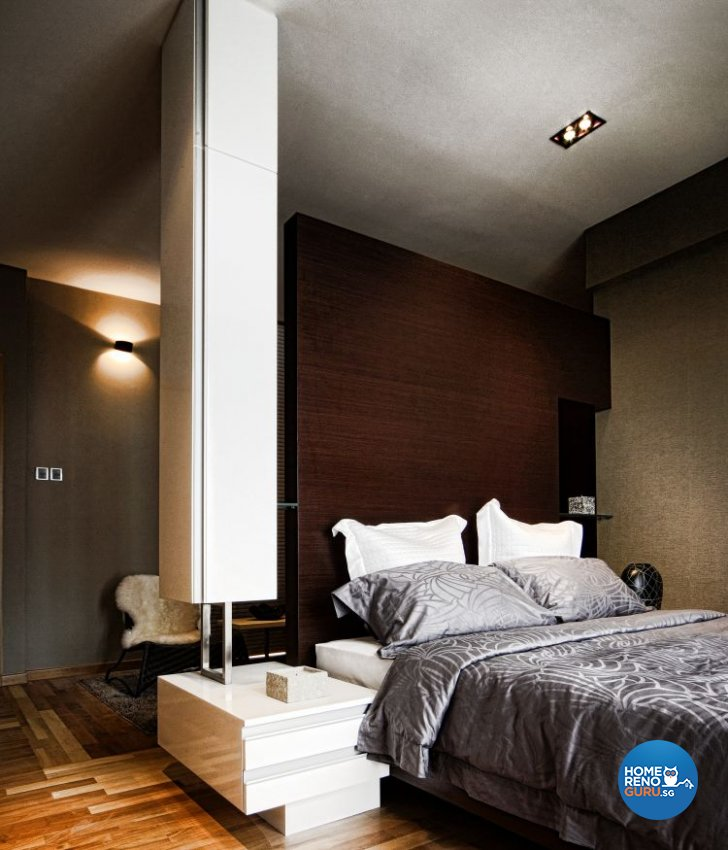 Minimalist, Modern Design - Bedroom - Condominium - Design by Artrend Design