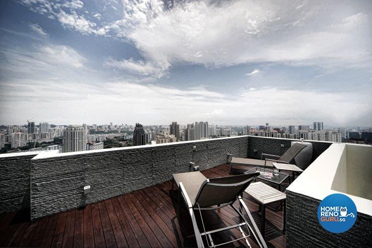 Minimalist, Modern Design - Balcony - Condominium - Design by Artrend Design