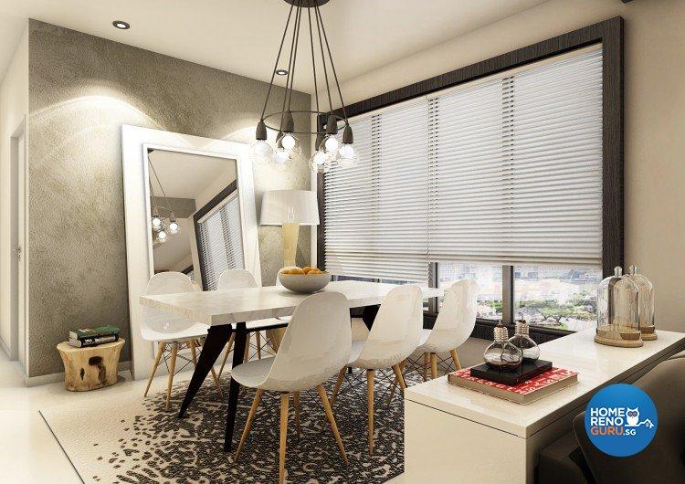 Contemporary, Modern, Scandinavian Design - Dining Room - Condominium - Design by Artrend Design
